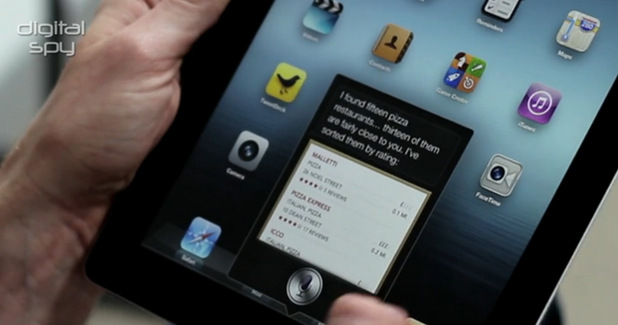 Apple iOS 6 video review screengrab
