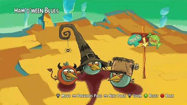 Artwork exclusive to Angry Birds Trilogy