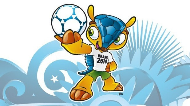 Armadillo - the official Mascot for Brasil 2014
