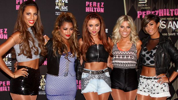 THe Saturdays perform at Perez Hilton