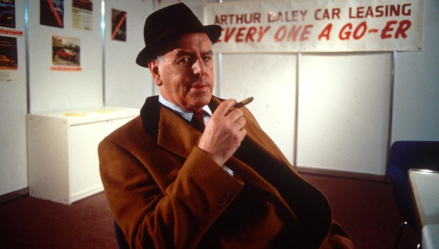 George Cole in &#39;Minder&#39;