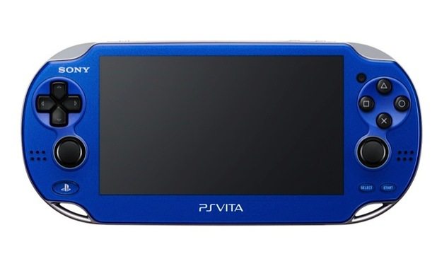 PlayStation Vita Red and Blue