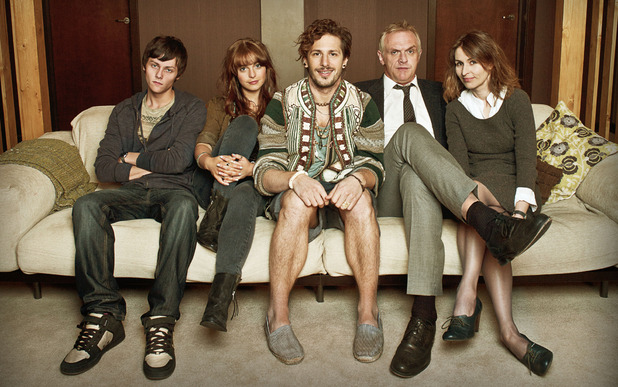 Cuckoo: Dylan (TYGER DREW HONEY), Rachel (TAMLA KARI), Cuckoo (ANDY SAMBERG), Ken (GREG DAVIES), Lorna (HELEN BAXENDALE)