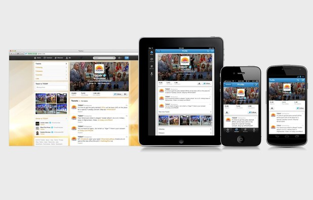 Twitter unveils new profile pages, iPad app