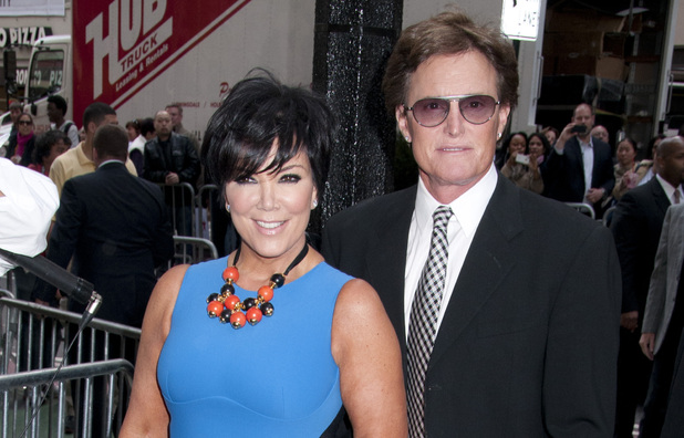 Kris Jenner, Bruce Jenner at E! 2012 Upfront at NYC Gotham Hall - Outside Arrivals New York City, USA - 30.04.12 **Not available for publication in USA magazines.  Available for publication in US tabloids and the rest of the world.** Mandatory Credit: WENN.com