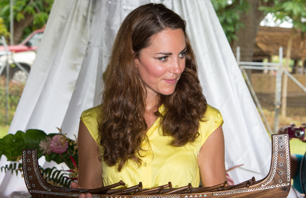 Duchess of Cambridge, Diamond Jubilee Tour, Solomon Islands
