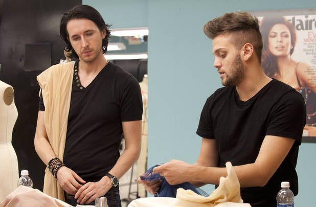 Project Runway 20/09 - Dmitry Sholokhov and Christopher Palu