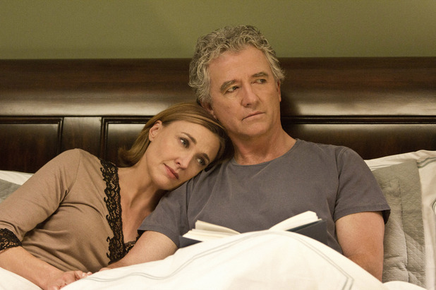 Brenda Strong as Ann Ryland Ewing and Patrick Duffy as Bobby Ewing