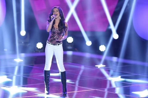 Allessandra Guercio's audition for NBC's The Voice