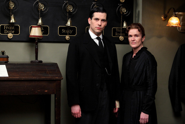 Rob James-Collier as Thomas, Siobhan Finneran as O'Brien