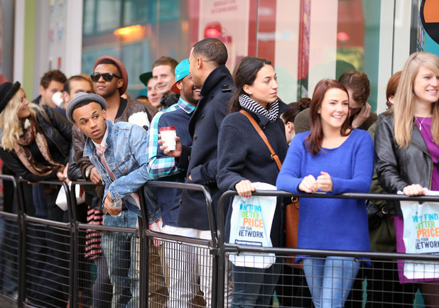 JLS in the queue