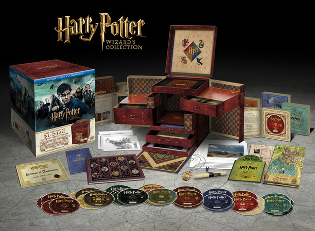 The Harry Potter Wizard's Collection