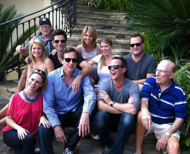 The Full House cast reunite