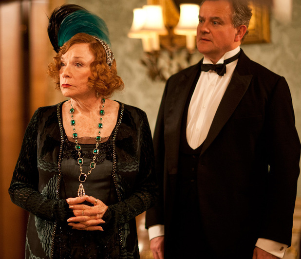 Shirley MacLaine as Martha Levinson, Hugh Bonneville as Robert