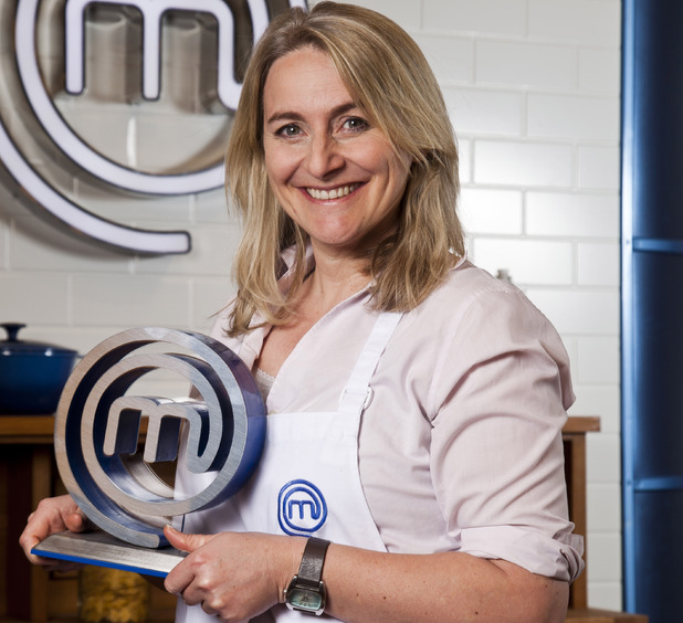 Celebrity Masterchef 2012 winner Emma Kennedy
