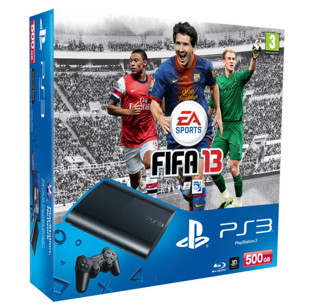 PS3 super slim FIFA 13 bundle