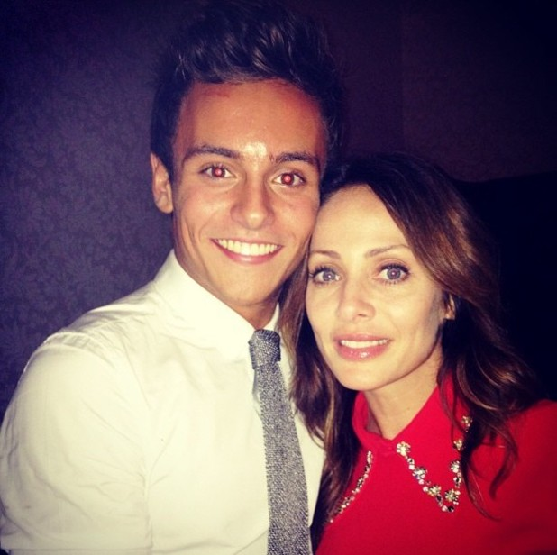 Tom Daley, Natalie Imbruglia, twitter
