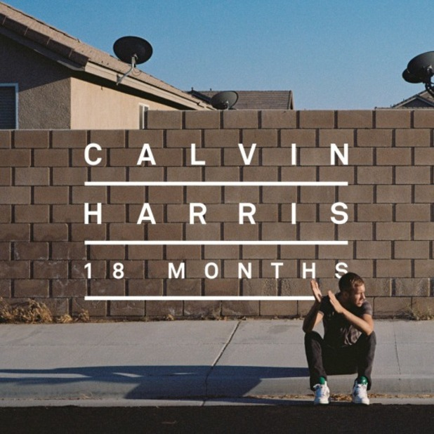 Calvin Harris '18 Months' album artwork.