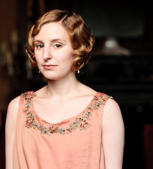 Downton Abbey S03E02: Laura Carmichael as Lady Edith