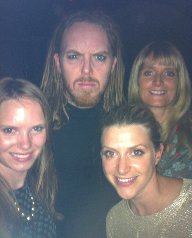 Anna Williamson and Tim Minchin