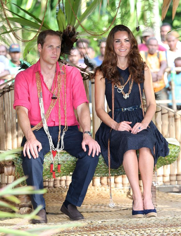 Duchess of Cambridge, Prince William, Tuvanipupu Island, nine-day tour of the Far East and South Pacific