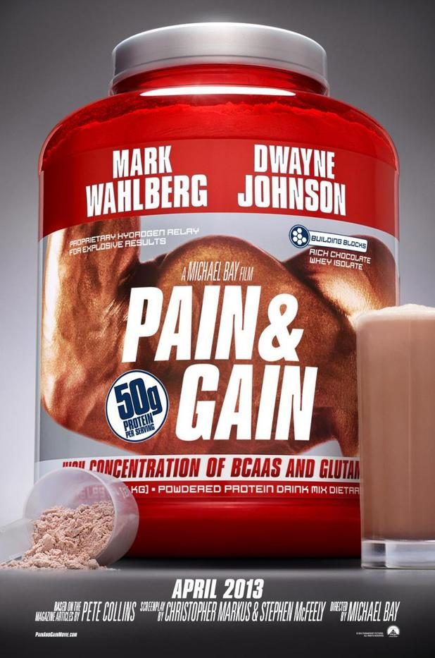 Michael Bay's 'Pain and Gain' debut poster