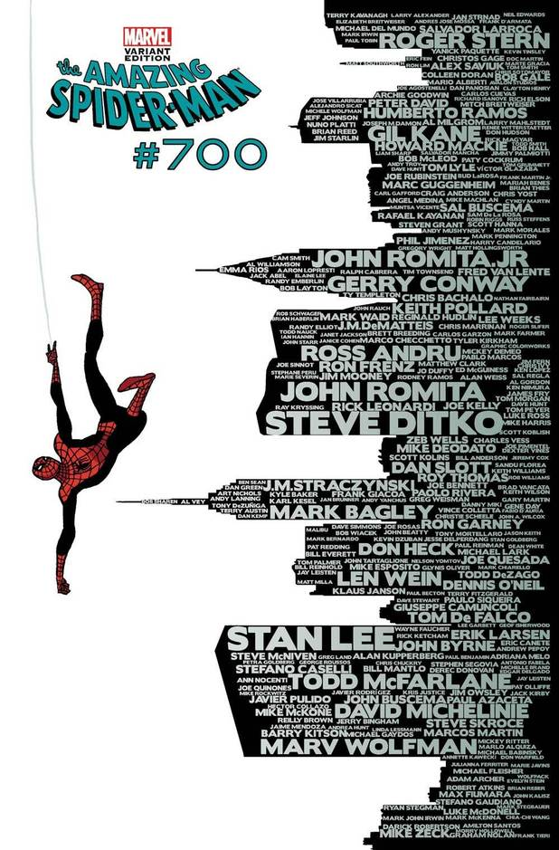 'The Amazing Spider-Man' #700