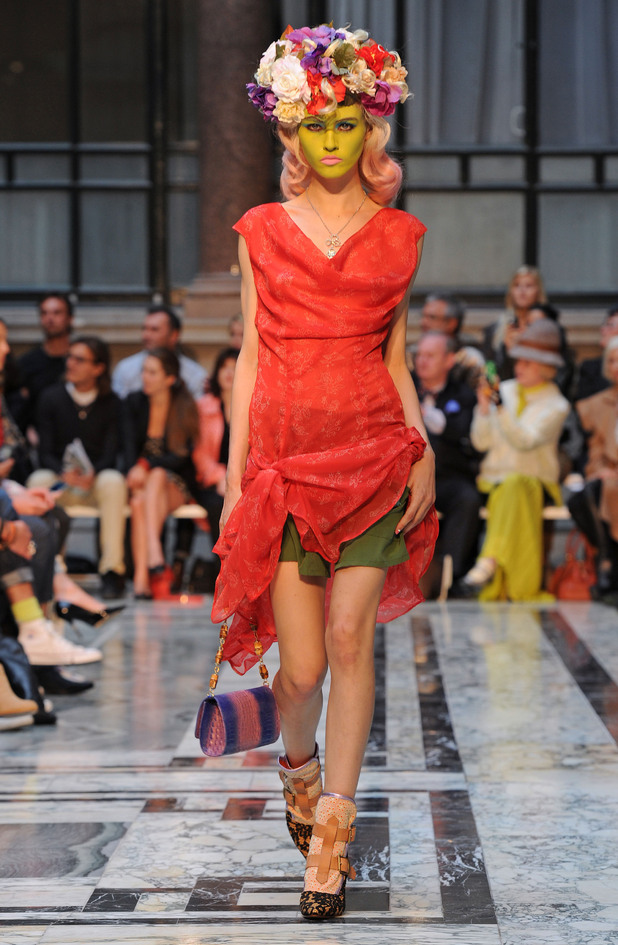 Vivienne Westwood show, Spring Summer 2013, London Fashion Week