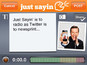 Ricky Gervais launches Just Sayin' app
