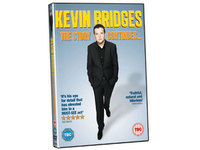 Kevin Bridges 'The Story Continues' packshot
