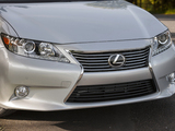 The Lexus ES 350 car