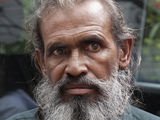 Bangladeshi man Moslemuddin Sarkar, 52, who had been missing since 1989, arrives at Dhaka airport, Bangladesh, upon returning home