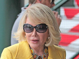 Joan Rivers Celebrities at The Grove to appear on entertainment news show 'Extra' Los Angeles, California - 14.06.12 Mandatory Credit: Josiah True/ WENN.com