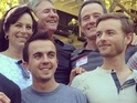 Frankie Muniz, Bryan Cranston and more meet for the first time in six years.
