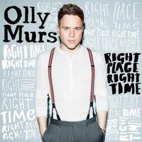 Olly Murs 'Right Place Right Time' album artwork.