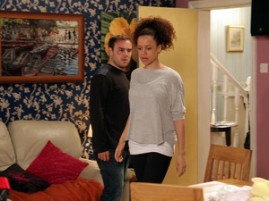 Corrie, Kirsty blackmails Tyrone, Mon 1 Oct