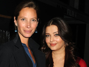 Christy Turlington and Aishwarya Rai Bachchan attend the United Nations &#39;Every Woman, Every Child&#39; dinner in New York