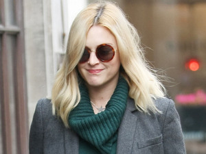Fearne Cotton outside the BBC Radio 1 studios London, England - 27.09.12 Mandatory Credit: WENN.com