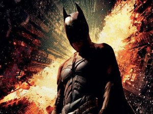 'The Dark Knight Rises' blu-ray artwork