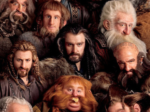 The Hobbit: dwarves poster