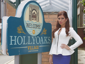 Nikki Sanderson as Maxine Minniver in Hollyoaks - embargoed until 00.01 Fri 28 September