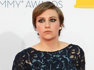 Lena Dunham 64th Annual Primetime Emmy Awards, held at Nokia Theatre L.A. Live - Arrivals Los Angeles, California