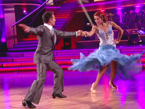 Dancing With The Stars S15E01: Drew Lachey and Anna Trebunskaya