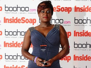 Inside Soap Awards 2012 - Winners: Tameka Empson