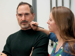 Steve Jobs waxwork for Maddam Tussauds