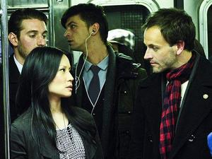 USTV series 'Elementary' debut (27/09/2012) starring Jonny Lee Miller as Sherlock Holmes and Lucy Liu as Watson