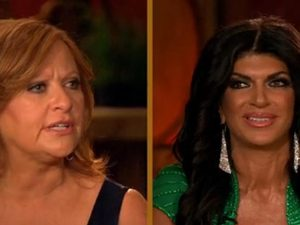 Real Housewives of New Jersey - Season 4 - Teresa Giudice hurls insults at Caroline Manzo (screenshot)