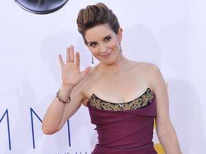 Tina Fey 64th Annual Primetime Emmy Awards, held at Nokia Theatre L.A. Live - Arrivals Los Angeles, California