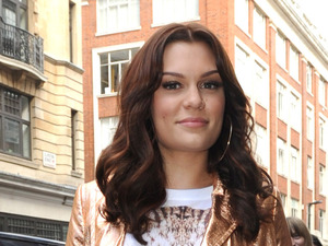miss mode: Jessie J aka Jessica Cornish leaving the BBC Radio 1 studios London, England - 27.09.12 Mandatory Credit: WENN.com