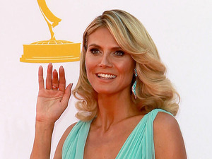 Heidi Klum 64th Annual Primetime Emmy Awards, held at Nokia Theatre L.A. Live - Arrivals Los Angeles, California - 23.09.12 Mandatory Credit: WENN.com/FayesVision